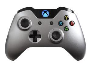 Modded Xbox One Controller Special Edition Steel Adjustable Rapid Fire Controller with Blue LED Guide Button