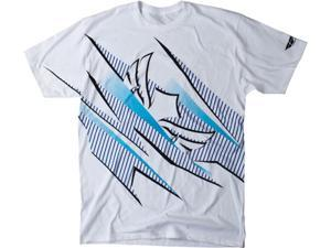 FLY Racing Sponsored Casual MX T-Shirt White/Blue 2XL