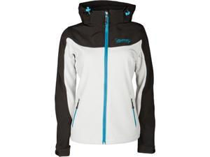 FLY Racing Pinned And Needles Womens Jacket Black/White SM