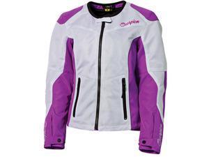 Scorpion Verano Womens Jacket Purple/White MD