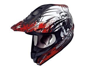 Scorpion VX-34 Scream MX Offroad Helmet Red/Black 2XL