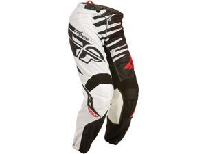 FLY Racing Kinetic Shock Mesh MX Pants Black/Red 40