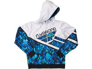 FLY Racing Kinetic MX Offroad Hoody Blue XL