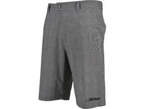FLY Racing Mulligan Casual Shorts Gray Plaid 40 USA