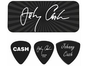 "Johnny Cash - ""Signature"" Guitar Pick Tin - 6 Picks"