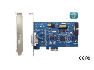 Genuine geovision GV-650B-8 8ch DVR card 60fps v8.5 software 64 bit Windows 7 support