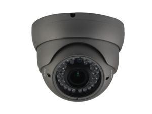 HD-SDI OUTDOOR TURRET DOME IR CAMERA: 2 MEGAPIXEL FULL HD 1080P IMAGE, 2.8-12MM OSD DUAL VIDEO 36 IR ( Grey Color )