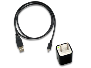 AC Wall Charger + USB Sync Data Cable for Verizon Samsung Messager III SCH-R570