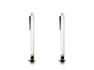 Lot 2x White Touch Screen Stylus Pen for Blackberry Torch 9800 2 9810