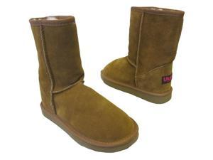 Ukala by Emu Australia Womens Sydney Low Chestnut Boots