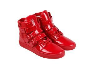 Radii Straight Jacket Vlc Candy Apple Patent Leather Mens High Top Sneakers