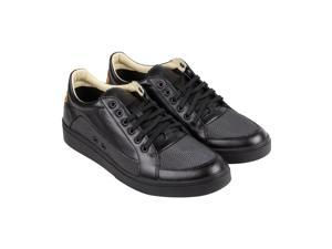 Diesel S-Groove Low Black Cuoio Mens Lace Up Sneakers