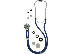 Medline MDS926301 Sprague Rappaport Stethoscopes,Black Case Of 1 EA