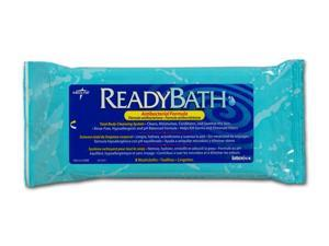 Medline MSC095100 ReadyBath Premium Antibacterial Wipes,0 Case Of 24 PK