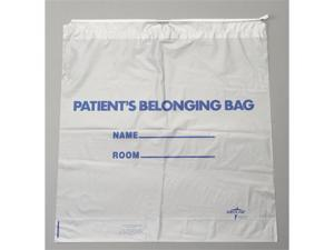 Medline NON026310 Drawstring Patient Belonging Bags,White Case Of 250 EA