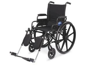 Medline MDS806550FLA K4 Lightweight Wheelchairs Case Of 1 EA