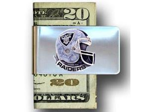 Oakland Raiders Pewter Emblem Money Clip