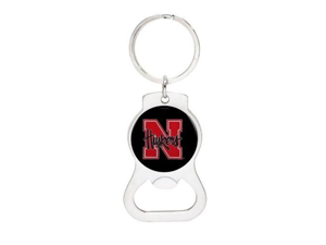 University of Nebraska Bottle Opener Keychain