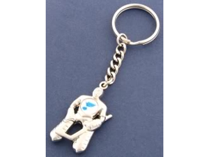 St. Louis Blues Goalie Keychain