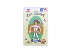 Atlanta Braves BENDOS bendable Keychain
