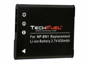 TechFuel Li-ion Rechargeable Battery for Sony Cyber-shot DSC-W730 Digital Camera