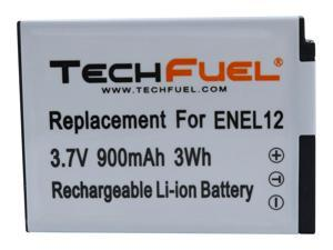 TechFuel EN-EL12 Camera Battery for Coolpix AW110, AW130 Cameras