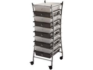 "Blue Hills Studio SC10CS X-Frame Storage Cart W/10 Drawers 13""X38""X15.5"