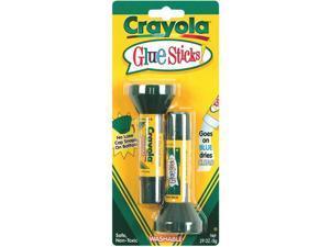 Crayola Washable Glue Sticks-.20 Ounce 2/Pkg
