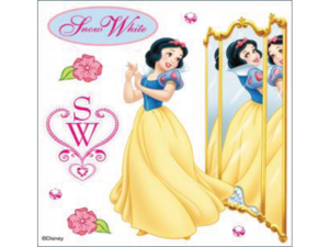 Jolees 448826 Disney Dimensional Sticker-Snow White Reflection