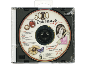 Ephemera Art CD-5,000 Art Pieces