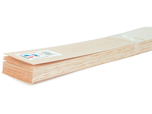 "Balsa Wood Sheet 36""-1/32""X3"""