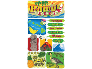 Jolee's Boutique Le Grande Dimensional Destination Sticker-Hawaii