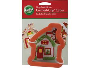"Comfort-Grip Cookie Cutter 4""-Gingerbread House"