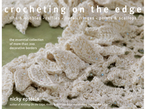 Nicky Epstein Books-Crocheting On The Edge