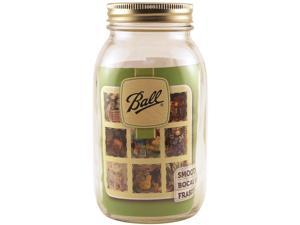 Ball Art Smooth Jar-Regular Mouth W/Lid-Quart