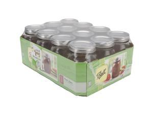 Ball Canning Jar Regular Mouth W/Lid-Pint