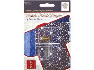 Sashiko Needle Sampler-Assorted Sizes 10/Pkg