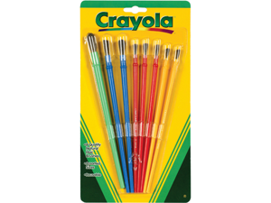 Crayola Paintbrushes-8/Pkg