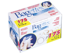 "Bagettes Heavy Duty Reclosable Bags 175/Pkg-Clear 2""X3"""