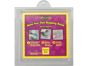 Stepping Stone Mold-Square 8""