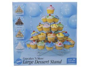 "Cupcakes 'N More Large Dessert Stand-Holds 38 Cupcakes 15""X18"""