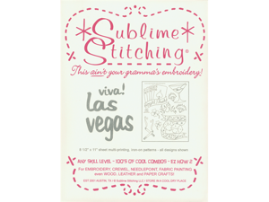 Sublime Stitching Embroidery Patterns-Viva Las Vegas