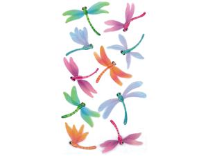 Jolee's Boutique Le Grande Dimensional Sticker-Vellum Dragonflies