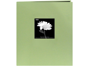 "Fabric Frame Scrapbook 8.5""X11""-Sage Green"