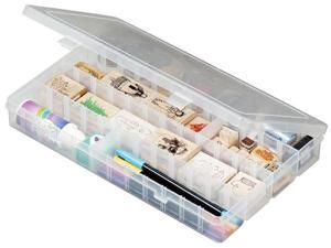 "Artbin Solutions Box 4-48 Compartments-14.125""X9""X2"" Translucent"