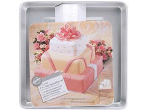 "3-Tier Deep Cake Pan Set-8"", 12"", 16"" Square"