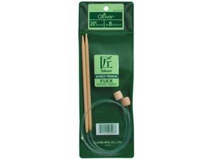 "Bamboo Flexible Knitting Needles 20""-Size 13"