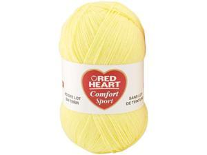 Red Heart Comfort Sport Yarn-Butter