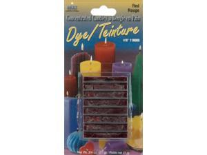 Concentrated Candle Dye 3/4 Ounce Blocks-Red