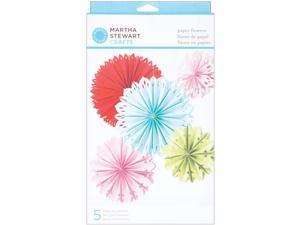 Modern Festive Paper Flowers Kit - Makes 5-